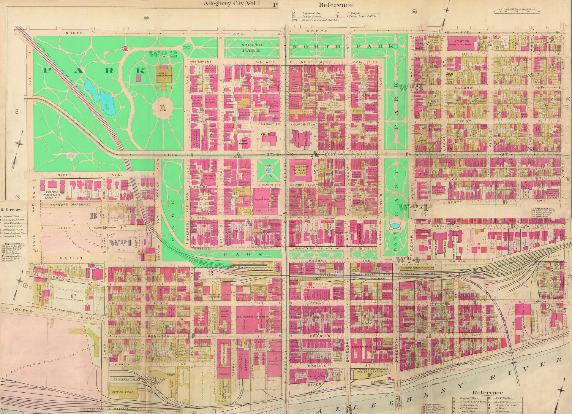 Maps: Allegheny City Society