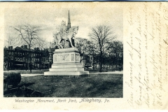 WashingtonMonumentNorthParkAlleghenyPA